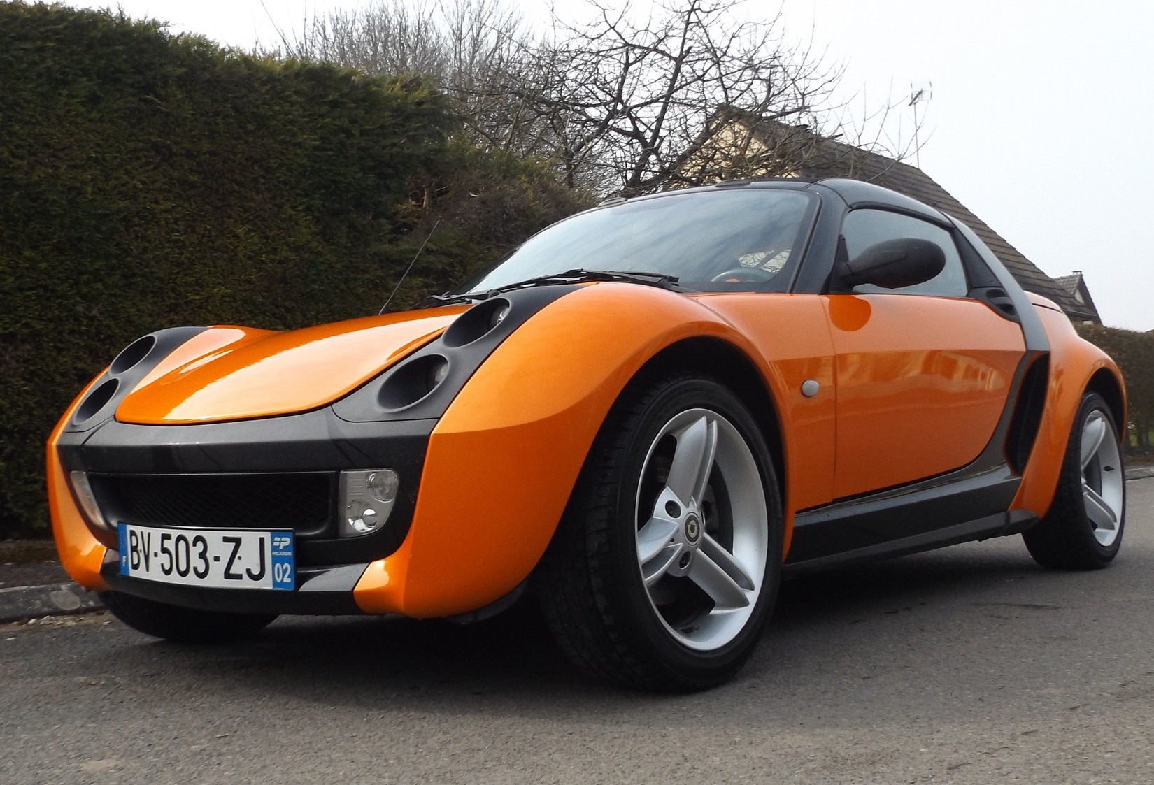 marche arri u00e8re   la smart roadster 82cv