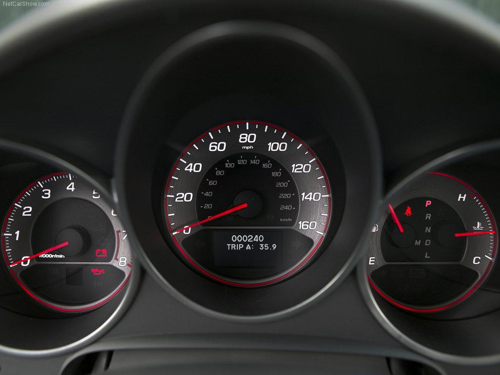Acura TL-S (aka la Honda Accord Type-R que l'on n'a pas ...