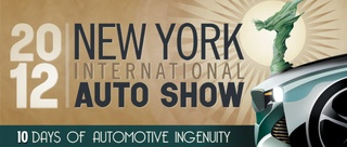 Salon automobile de New York 2012