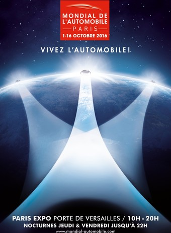 Mondial de l'automobile de Paris 2016