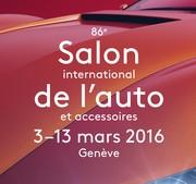 Salon automobile de Genève 2016
