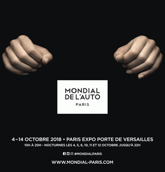 Mondial de l'automobile de Paris 2018