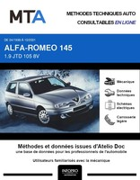 MTA Alfa Romeo 145 phase 2