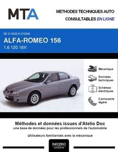 MTA Alfa Romeo 156  berline phase 2