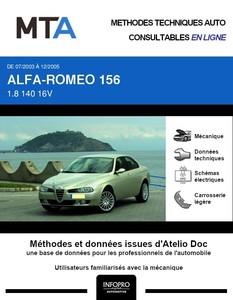MTA Alfa Romeo 156  berline phase 3