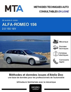 MTA Alfa Romeo 156  break phase 1