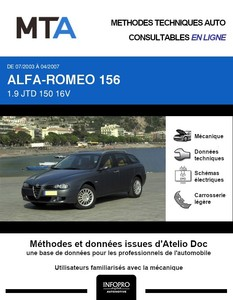 MTA Alfa Romeo 156  break phase 3