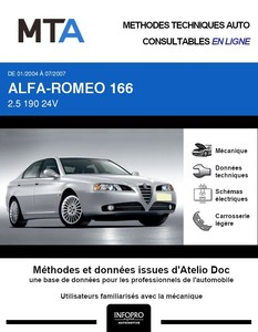 MTA Alfa Romeo 166 phase 2