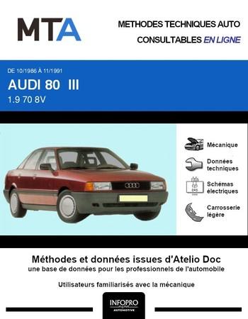 MTA Audi 80 III (B3) berline