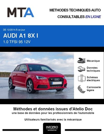 MTA Audi A1 I 3p phase 2