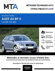 MTA Audi A3 II 3 portes phase 1