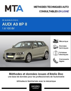 MTA Audi A3 II (8P) 5p phase 2