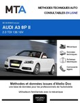 MTA Audi A3 II (8P) cabriolet phase 2
