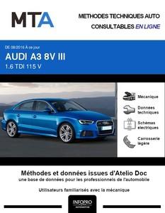 MTA Audi A3 III berline phase 2