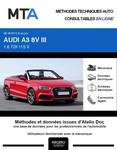 MTA Audi A3 III cabriolet phase 2