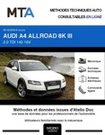 MTA Audi A4 Allroad IV (B8) break phase 1