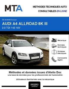 MTA Audi A4 Allroad IV (B8) break phase 1