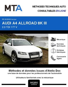 MTA Audi A4 Allroad IV (B8) break phase 2