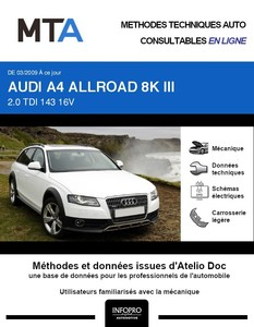MTA Audi A4 IV (B8) Allroad break phase 1