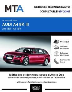 MTA Audi A4 IV (B8) break phase 1