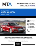 MTA Audi A4 V (B9) break phase 1