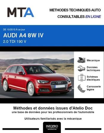 MTA Audi A4 V (B9) break phase 1