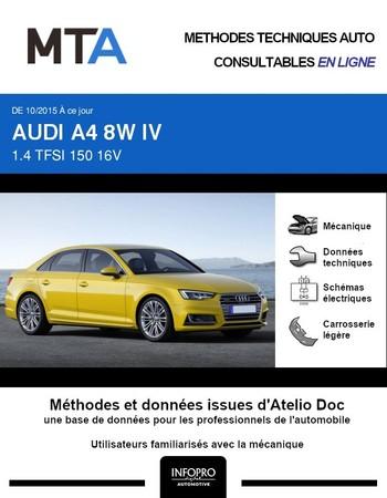 MTA Audi A4 V (B9) phase 1