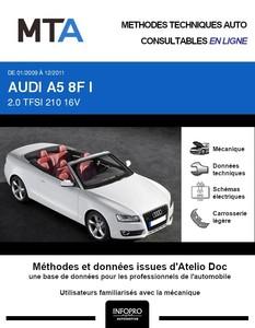MTA Audi A5 I cabriolet phase 1