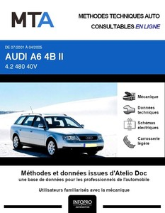 MTA Audi A6 II (C5) break phase 2