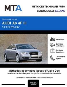 MTA Audi A6 III (C6) berline phase 1