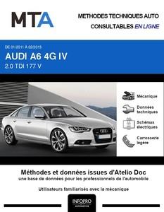 MTA Audi A6 IV (C7) berline phase 1