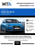 MTA Audi A6 IV (C7) berline phase 2
