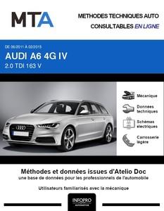 MTA Audi A6 IV (C7) break phase 1