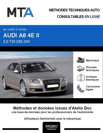 MTA Audi A8 II (D3) phase 2