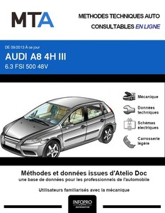 MTA Audi A8 III (D4) phase 2