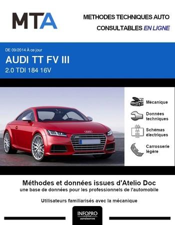 MTA Audi TT III coupé phase 1