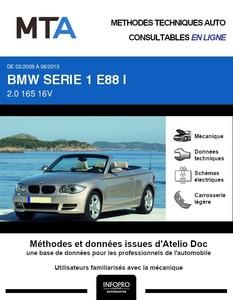 MTA BMW Série 1 I (E87) cabriolet (E88)