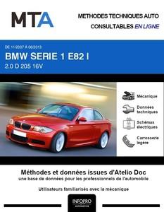 MTA BMW Série 1 I (E87) coupé (E82)