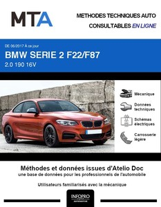 MTA BMW Série 2 (F22) coupé phase 2