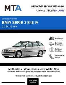 MTA BMW Série 3 IV (E46) break phase 2