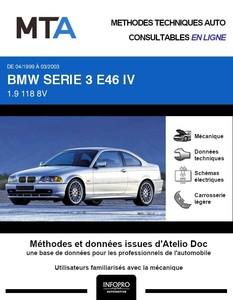 MTA BMW Série 3 IV (E46) coupé phase 1