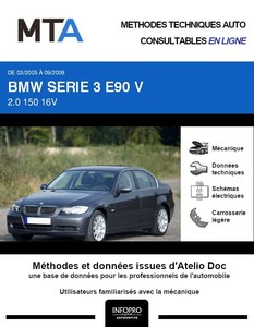 MTA BMW Série 3 V (E90) berline phase 1