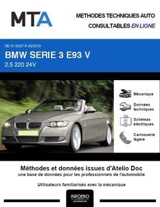 MTA BMW Série 3 V (E90) cabriolet phase 1
