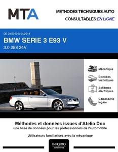MTA BMW Série 3 V (E90) cabriolet phase 2
