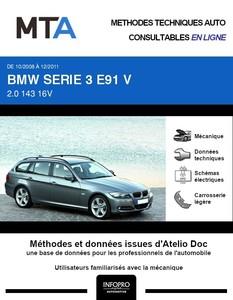 MTA BMW Série 3 V (E91) break phase 2
