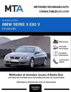 MTA BMW Série 3 V (E92) coupé 2 portes phase 1