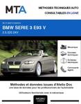 MTA BMW Série 3 V (E93) cabriolet phase 1