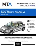 MTA BMW Série 3 VI (F30) berline phase 1