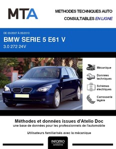 MTA BMW Série 5 V (E60) break phase 2