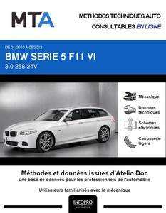MTA BMW Série 5 VI (F10) break phase 1